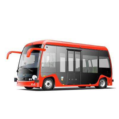 unpiloted driverless bus